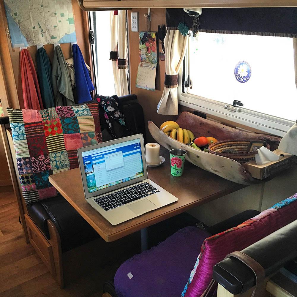 Caravan Writing Life | Kate M Foster